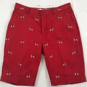 Polo Ralph Lauren Shorts Chino Red Airedale 33